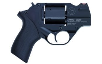 CHIAPPA RHINO COMBO Dual-Cylinder 2″ 200DS Revolver | Black | .357 Magnum/.38 Special | 9mm Cylinder (340.236)