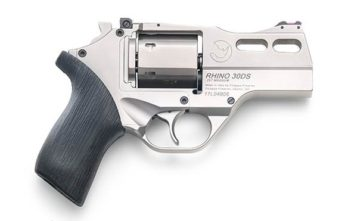 CHIAPPA RHINO 3″ 30DS Revolver | Nickel | .357 Magnum/.38 Special (340.290)