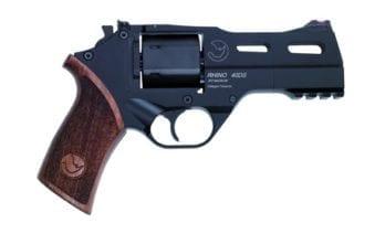 CHIAPPA RHINO 4″ 40DS Revolver | Black | .357 Magnum/.38 Special (340.219)