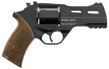 CHIAPPA RHINO *COMBO* Dual-Cylinder 4″ 40DS Revolver | Black | .357 Magnum/.38 Special | 9mm Cylinder (340.238)