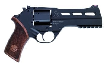 CHIAPPA RHINO 5″ 50DS Revolver | Black | .357 Magnum/.38 Special (340.220)
