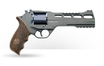 CHIAPPA RHINO 6″ 60DS Revolver | OD Green | .357 Magnum/.38 Special (340.282)