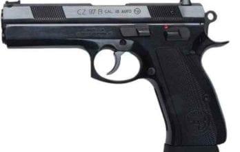 CZ 97B   Black   45acp   10rd (01411)