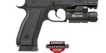 CZ 75 SP-01 PHANTOM | Black Polymer | 9mm | 18rd | Decocker | w/ Nebo light (CZ91259)
