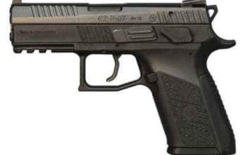 CZ P-07   Black Polymer   9mm   15rd (CZ91086)