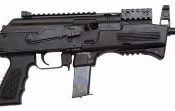 CHARLES DALY AK-9 | Black | 9mm | (2)10rd Beretta 92 mags + Glock Mag Adapter + Buffer Tube Adapter (CF440087)