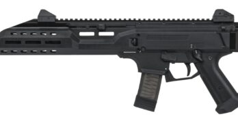 CZ Scorpion EVO 3 S1 Pistol | Black | 9mm | Flash Can (91353)