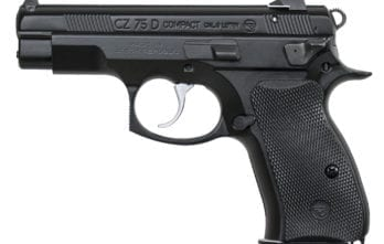 CZ 75D PCR Compact | Black | 9mm | Rubber grip | 10rd (01194)