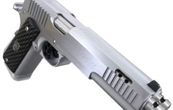 Arsenal Firearms AF2011 Double Barrel Pistol – Stainless | .45ACP | Dueller Prismatic (AF2011-DBDP.45.AS) SPECIAL ORDER – CONTACT TO PURCHASE