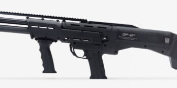 DP-12 Double Barrel Pump Shotgun Black