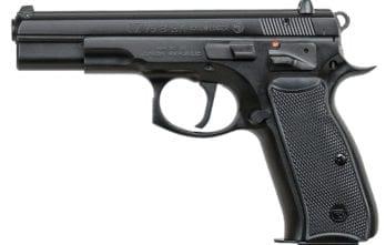 CZ 75 SAO 9MM 4.6″ BLK 2-16RD  (91150)