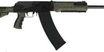 KS12TODG  KALASHNIKOV KS12T 12GA. 18.25″ 3″ 1-10RD MAG BLK/ODG M4 STOCK