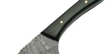 Damascus – Caping Knife Buffalo Horn