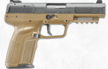FN FIVE-SEVEN 5.7X28, FDE, 20+1, AS, 3-20RD MAGS, ACCESSORY RAIL  (FN3868929350)