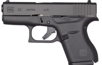 Glock 43 – Slimline, Single-Stack, Subcompact, 9 mm (PI4350201)