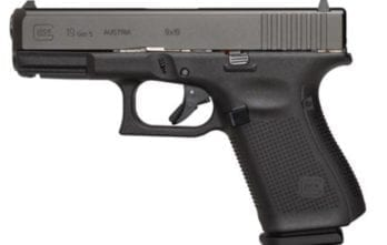 GLOCK – G19 G5 9MM 15+1 4.0″ FS 3-15RD MAGS | ACCESSORY RAIL 9mm (UA1950203)