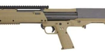 Kel-Tec KSG 12ga Shotgun (KTKSGTAN) KSG 12/18.5 14+1 PIC RAIL TAN TAN SYNTHETIC STOCK 12 Gauge