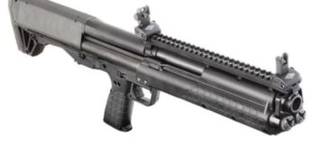 Kel-Tec KSG 12ga Shotgun (KTKSGBLK) 18.5 14+1 TOP PIC RAIL BLACK SYNTHETIC STOCK