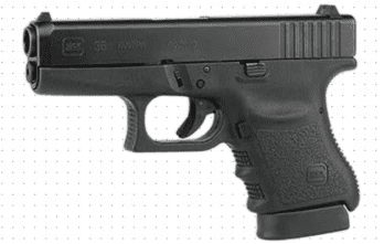 Glock 36 – Slimline, Single-Stack, Subcompact, .45 ACP (PI3650201FGR)