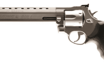Taurus, RAGING BULL, 44M, SS, 8-3/8″, 6SH, ADJ SGTS/PORTED (2-444089 / 444SS8)