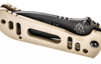 TOPS – MIL-SPIE 3.5 Folder Hunter Point Black & Tan