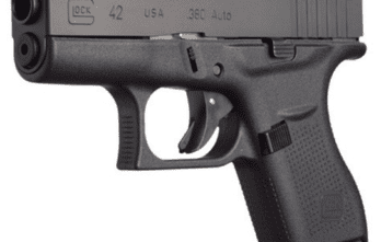 Glock 42 – Slimline, Single-Stack, Subcompact, .380 ACP (UI4250201)