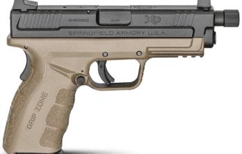 Springfield Armory XD® MOD.2® 4″ SERVICE MODEL 9MM – THREADED BARREL (XDGT9101FDEHC)