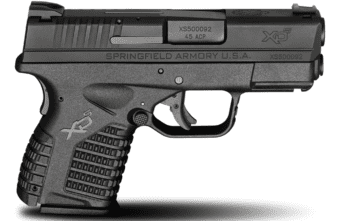 Springfield Armory – 3.3″ SINGLE STACK .45ACP BLACK (XDS93345BE)