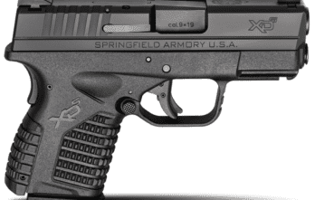 Springfield Armory – 3.3″ SINGLE STACK 9MM BLACK (XDS9339BE)