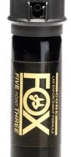 FOX PEPPER SPRAY – Five Point Three® | 2oz., 2% OC, Cop Top Medium Cone Fog Spray Pattern